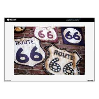 Vintage Iconic Route 66 Skin For Laptop
