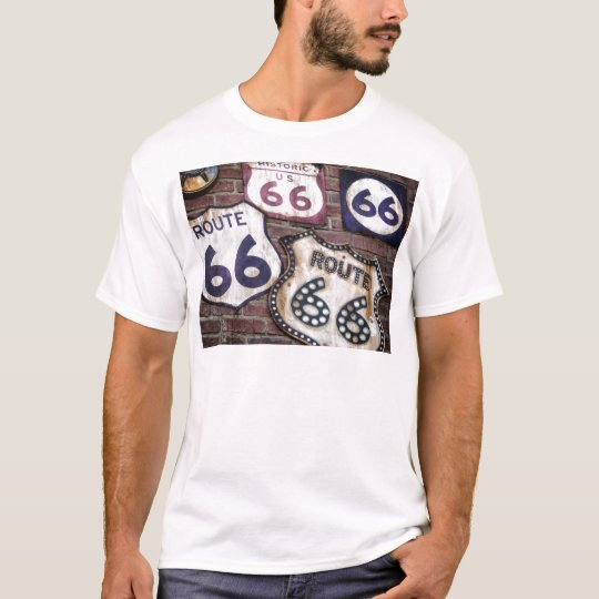 Vintage Iconic Route 66 T-Shirt