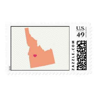 Vintage Idaho Stripe Postage