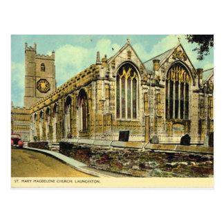 Vintage iglesia parroquial de Gran Bretaña, Tarjetas Postales