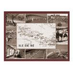 Vintage, Ile de Re Tarjetas Postales