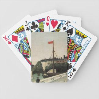 Vintage Ile Saint Louis France Poker Deck