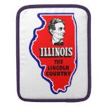 Vintage Illinois, país de Abe Lincoln Funda Para iPads