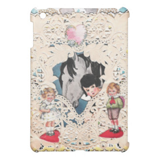 Vintage Illustrated Cards Cover For The iPad Mini