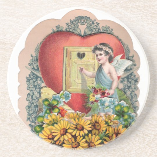Vintage Illustrated Picture Coaster