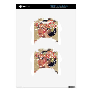 Vintage Illustration Chinese Woman Xbox 360 Controller Skin