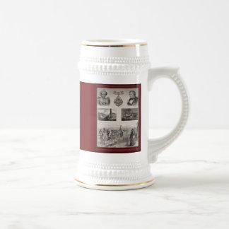 Vintage illustration -Commemorative, Mug