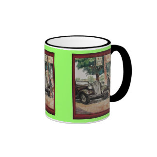Vintage illustration -Grand Tour Coffee Mug
