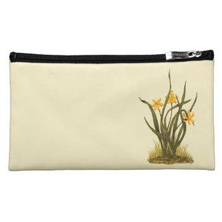 Vintage Illustration of Star Grass Cosmetic Bag