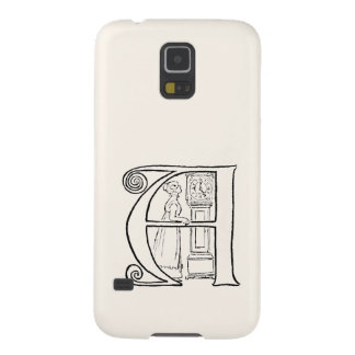 Vintage Illustration of the Letter A Galaxy S5 Case