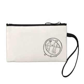 Vintage Illustration of the Letter O Coin Purse