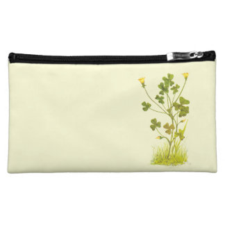 Vintage Illustration of the Yellow Wood-Sorrel Cosmetic Bag