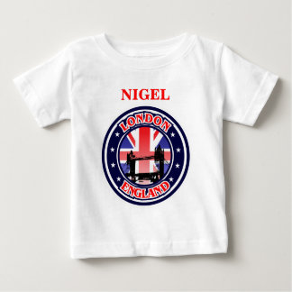Vintage Illustration Of Tower Bridge Baby T-Shirt