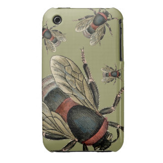 Vintage illustrations of Bees - iPhone 3/3GS iPhone 3 Covers