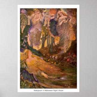 Vintage Image - A Midsummer Night's Dream Poster