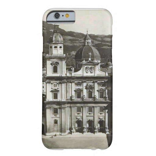 Vintage image Austria,  Salzburg, Domkirche iPhone 6 Case