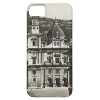 Vintage image Austria,  Salzburg, Domkirche iPhone 5 Cover