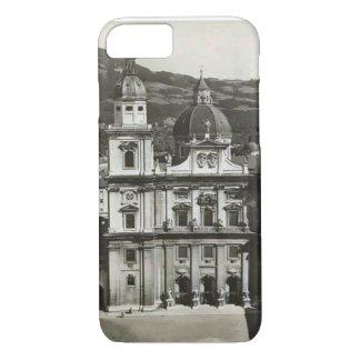 Vintage image Austria,  Salzburg, Domkirche iPhone 8/7 Case