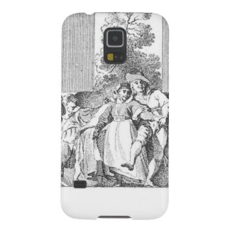 Vintage Image: Dancing Party Case For Galaxy S5