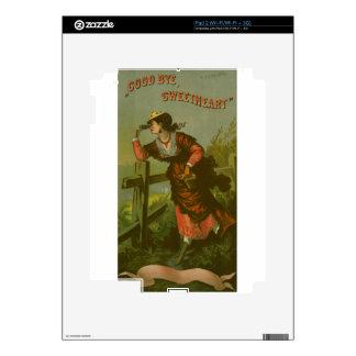 Vintage Image: Farewell Sweetheart Skins For iPad 2