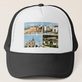 Vintage image, France, St Hilaire de Riez Trucker Hat