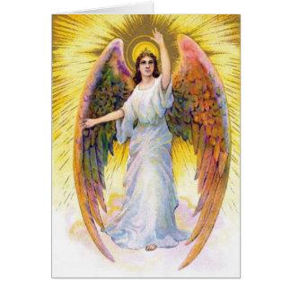 Vintage Image - Heavenly Angel Card