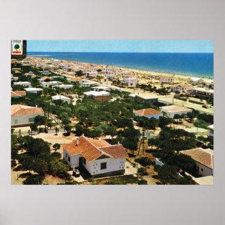 Vintage image, Italy,  Umbria Huelva Print