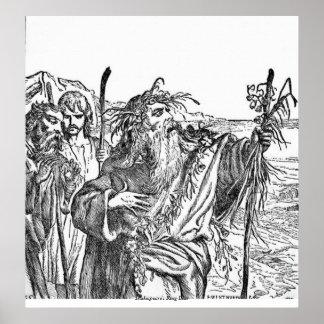 Vintage Image - King Lear Poster
