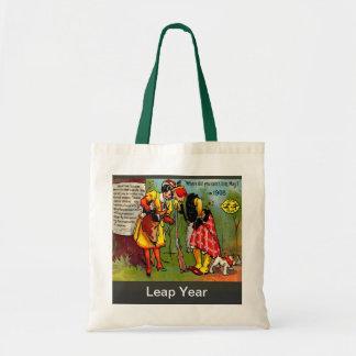 Vintage image, Leap year 1908 Tote Bag