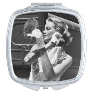 Vintage Image Mirror
