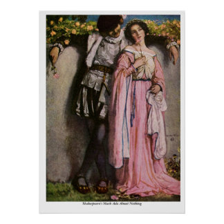 Vintage Image - Much Ado About Nothing Poster