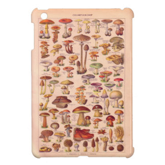 Vintage image, Mushrooms iPad Mini Cases