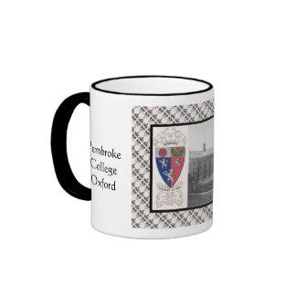 Vintage image, Pembroke, Oxford Ringer Coffee Mug