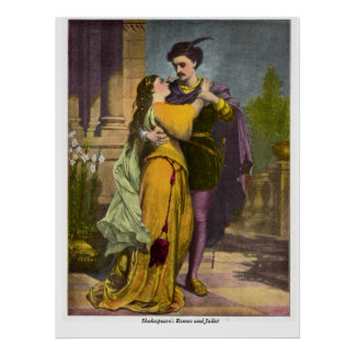 Vintage Image - Romeo and Juliet Poster