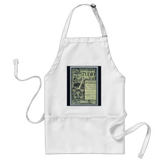 Vintage image,The Studio 1901, cover Adult Apron