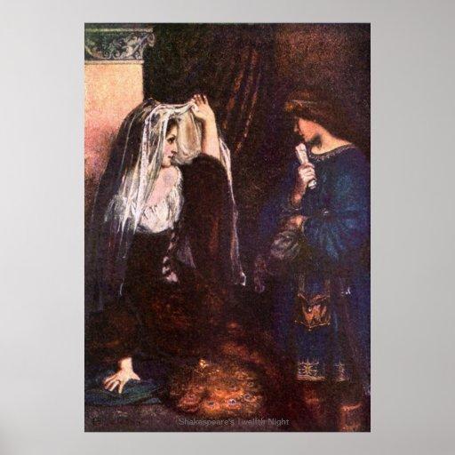 Vintage Image - Twelfth Night Posters