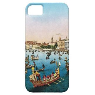 Vintage image, Venice regatta 1910 iPhone SE/5/5s Case