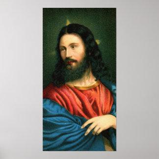 Vintage - imagen del Jesucristo Posters