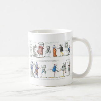 Vintage Images Fashionable French Ballet Coffee Mug