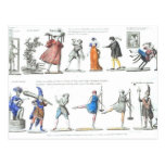 Vintage Images Fashionable French Ballet Post Cards