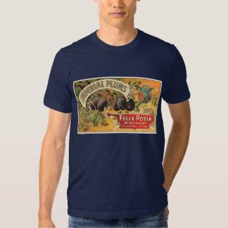 Vintage Imperial Plums Lable T Shirt
