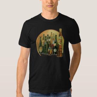 Vintage Imported Beer Bottles, Alcohol, Beverages T Shirt