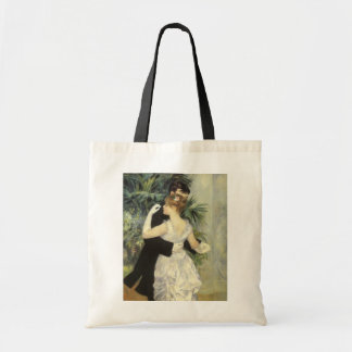 Vintage Impressionism Art, City Dance by Renoir Budget Tote Bag