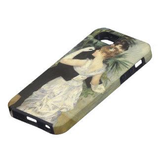 Vintage Impressionism Art, City Dance by Renoir iPhone 5 Cases