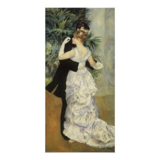 Vintage Impressionism Art, City Dance by Renoir Poster