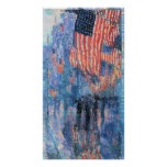 Vintage Impressionism, Avenue in the Rain, Hassam Poster