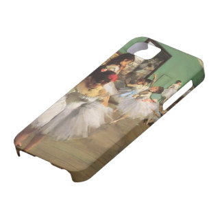 Vintage Impressionism Ballet Dance Class by Degas iPhone 5 Cases