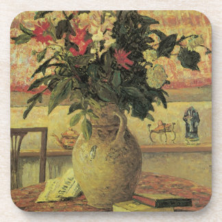 Vintage Impressionism Bouquet of Flowers by Maufra Beverage Coaster
