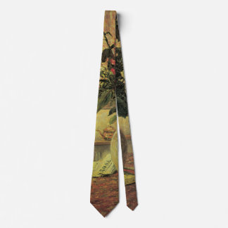 Vintage Impressionism Bouquet of Flowers by Maufra Neck Tie