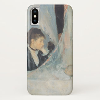 Vintage Impressionism, Cradle by Berthe Morisot iPhone X Case